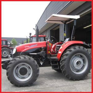 80HP, 4WD Yto Farm Tractor, Agricultural Tractor, Wheeled Tractor (YTO-X804) pictures & photos