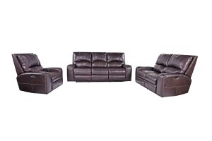 Promotional Leather Recliner with Headrest 3+2+1 pictures & photos