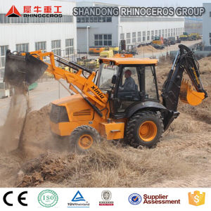 7ton Backhoe Loader with Cummins Engine with Ce ISO TUV, 0.3/1.0 Bucket with Price for Sale Hot Sale pictures & photos