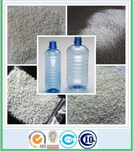 100% virgin bottle grade milky white extruded PET resin pictures & photos
