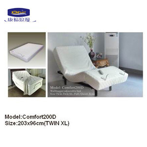 2016 Popular Wallhugger Adjustable Bed (Comfort200D) pictures & photos
