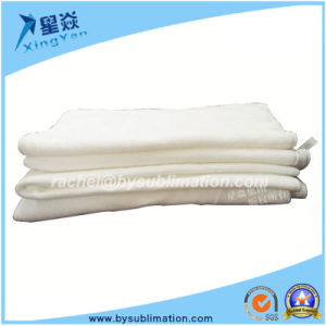 Pure White Sublimation Face Towel pictures & photos