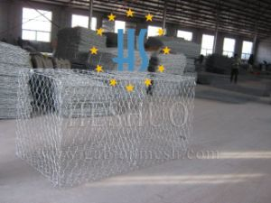 Hexagonal Mesh Gabion Basket pictures & photos