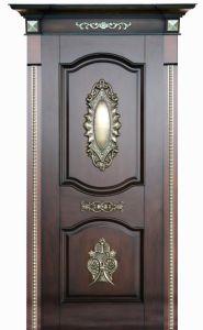 Classical Design Solid Wood Door pictures & photos