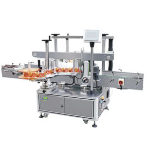 Automatic Double Side Round Bottle Labeling Machine pictures & photos