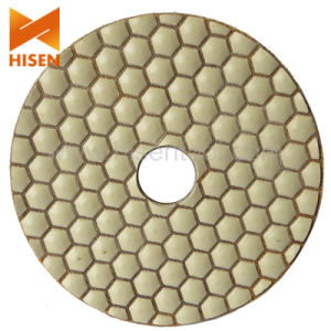 Dry Flexible Polishing Pads for Granite pictures & photos