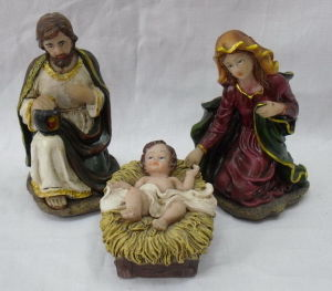Religious Nativity Gifts, Resin Nativity for Christian Statue