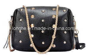 Fashion Rivets Clutch/Crossbody Bag (LY0183) pictures & photos