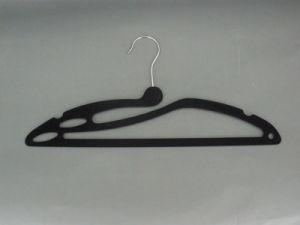 Wholesale Velvet Hanger, New Design Velvet Hanger, Hot Sale Plastic Hanger pictures & photos