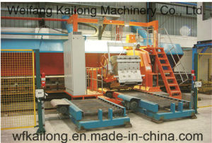 Semi-Automatic Pouring Machine Used in Foundry Moulding Line