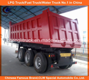 Heavy Duty Tri-Axle 40ton End Tipper Dump Truck Trailer pictures & photos
