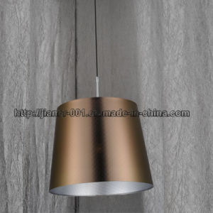 Modern Project Hanging Lighting with Gold Dark Fabric pictures & photos