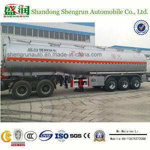 Shengrun 3axle Aluminum Alloy Liquid Tanker Trailer for Selling