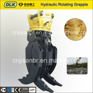 Cat 320d and Hyundai R210 Hydraulic Revolving Rock Grapple pictures & photos