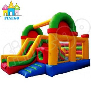 Hot Sale Cheap Slip N Slid Inflatable Castle Water Slide pictures & photos