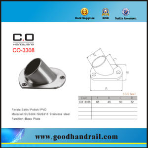 Handrail Fitting Base Plate (CO-3308) pictures & photos