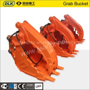 Hydraulic Type Excavator Stone Grab Bucket with Factory Price pictures & photos