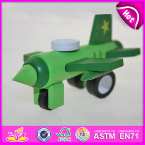 Hot New Product for 2015 Kids Flying Toy Plane, Funny Children Toy Wooden Toy Plane, Top Quality Cheap Miniature Toy Plane W04A089 pictures & photos