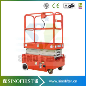 3m 4m Electric Hydraulic Mini Scissor Lift Mobile Lift Tables pictures & photos