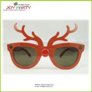 Antler Christmas Plastic Party Glasses (Joy31-1000)