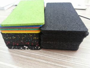 Indoor Rubber Flooring Roll or Sheet for Gym pictures & photos