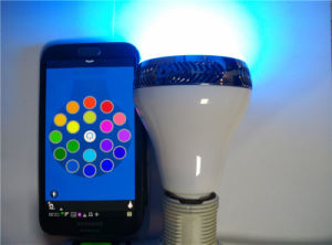 Newest Arrival RGB Bulb Speaker APP Bluetooth Speaker Bulb Light