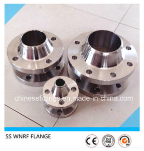 Weld Neck Stainless SS304 SS316 ASTM B16.5 Flanges pictures & photos