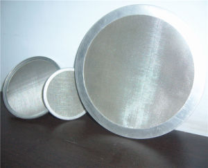 Ss/Carbon Steel/Copper/Black Wire Cloth Filter Disc for Water & Oil Treatment pictures & photos