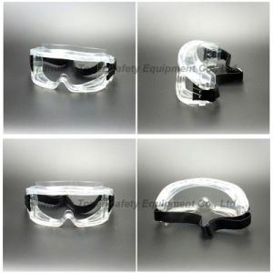 Large View Size Anti-Impact PC Lens Safety Goggles (SG145) pictures & photos