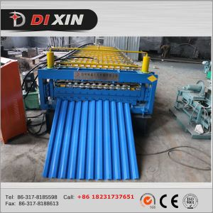 C8/C21 Russia Type Roof Panel Roll Forming Machine pictures & photos