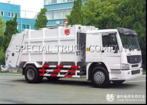 HOWO 4X2 16m3 Garbage Truck pictures & photos