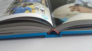 Hardcover Book Printing with Glossy Paper (TG216) pictures & photos