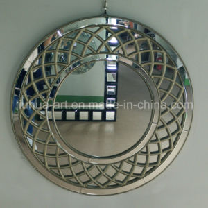 Flower Shaped Bathroom Craft Mirror Bathroom Accessory Vintage Wall Mirror Hollywood Mirror (LH-000542) pictures & photos