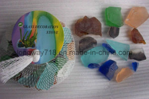 Colorful Beach Glass Chips, Assorted (G1980)