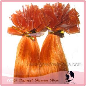100% Human Keratine Flat Tip Hair (GH-FT001)