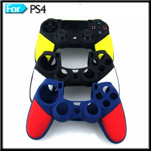 Video Accessories Soft Anti-Slip Silicone Case Cover for Playstation 4 PS4 Game Controller Skin pictures & photos