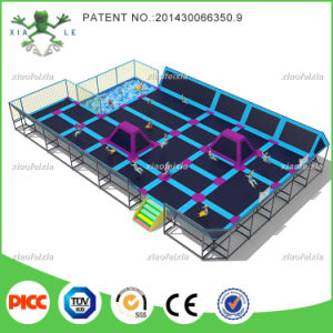 Customized Rectangular Indoor Trampoline for Adults with Trade Assurance Fund pictures & photos