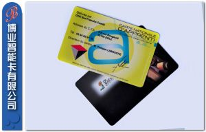 Popular Magnetic Stripe Card pictures & photos