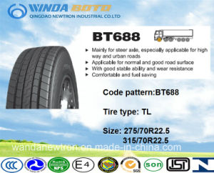 TBR Tire, Truck&Bus Tire, Radial Tire Bt688 275/70r22.5 pictures & photos