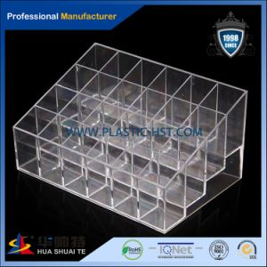 New Design Clear Plastic Acrylic Makeup Box-Hst pictures & photos