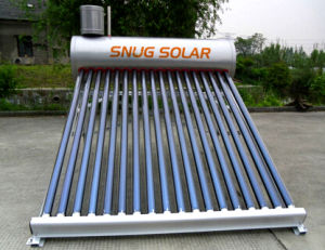 200L Low Pressure Stainless Steel Water Solar Heater pictures & photos