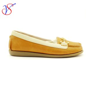 Two Color Soft Comfortable Flax Lady Women Shoes Sv-FT 020 pictures & photos