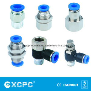 Plastic Pneumatic Tube Fitting pictures & photos
