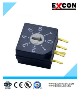 Dial Rotary Switch/ Toggle Switch/ Micro Switch with 7 Position pictures & photos