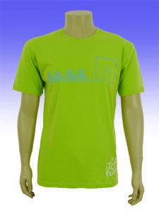 Custom Organic Pure Color Printed T Shirts pictures & photos