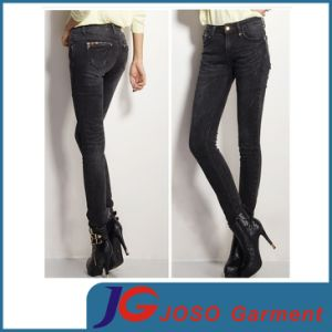 Women Perfect Waist Skinny Jeans (JC1243) pictures & photos
