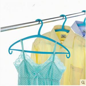 Neway Plastic Coat Hanger Rubber Coated Plastic Hanger pictures & photos