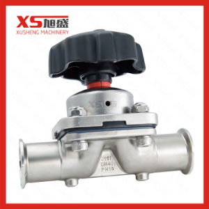 SS316L Manual Two Way Clamp-Clamp Diaphragm Valve pictures & photos