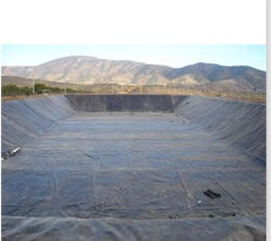 Waterproof Fish Pond Liner Polyethylene Geomembrane pictures & photos
