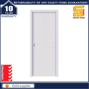 Wood Veneered and Painting Fire Rated Wooden Door pictures & photos